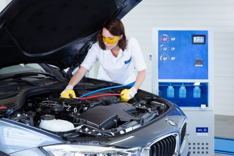 AVL DiTEST Mercedes Benz AC Services