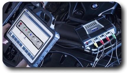 اسیلوسکوپ خودرو ۲ و ۴ کاناله AVL Ditest