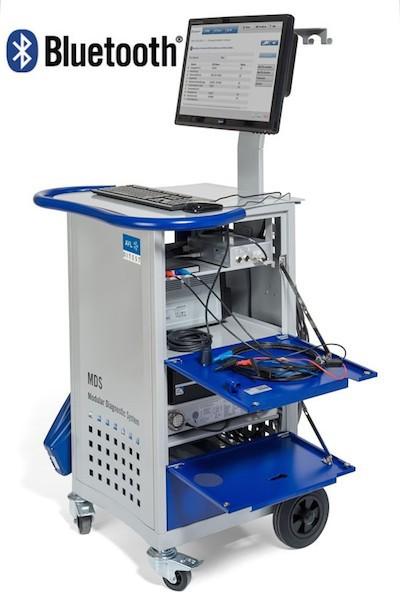 آنالایزر گاز AVL DiTest MDS 650 به همراه دستگاه اندازه گیری دور موتور خودرو و اسیلوسکوپ خودروهای بنزینی و دیزلی شرکت پارس رایزن نمایندگی انحصاری AVL