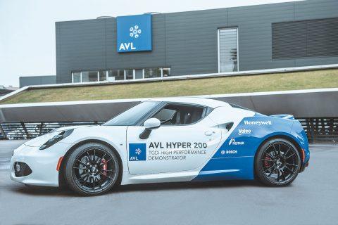 AVL HyPer 200 concept engine