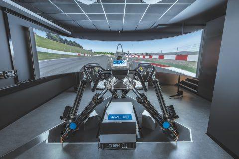 AVL RACING Driving Simulator