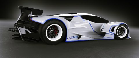 Quimera and Altran to build the battery electric AEGT Evo2 race car